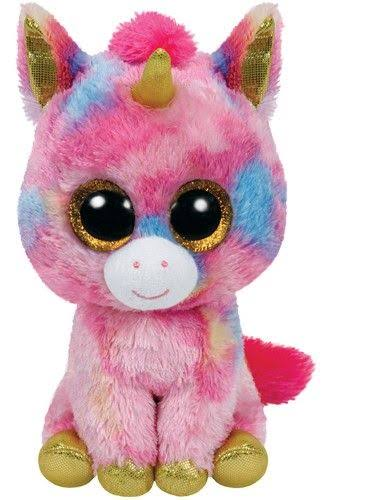 Ty Fantasia the Unicorn Beanie Boo Plush Toy - 15cm