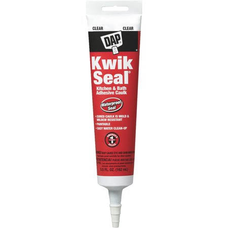 DAP Kwik Seal Tub & Tile Adhesive Caulk