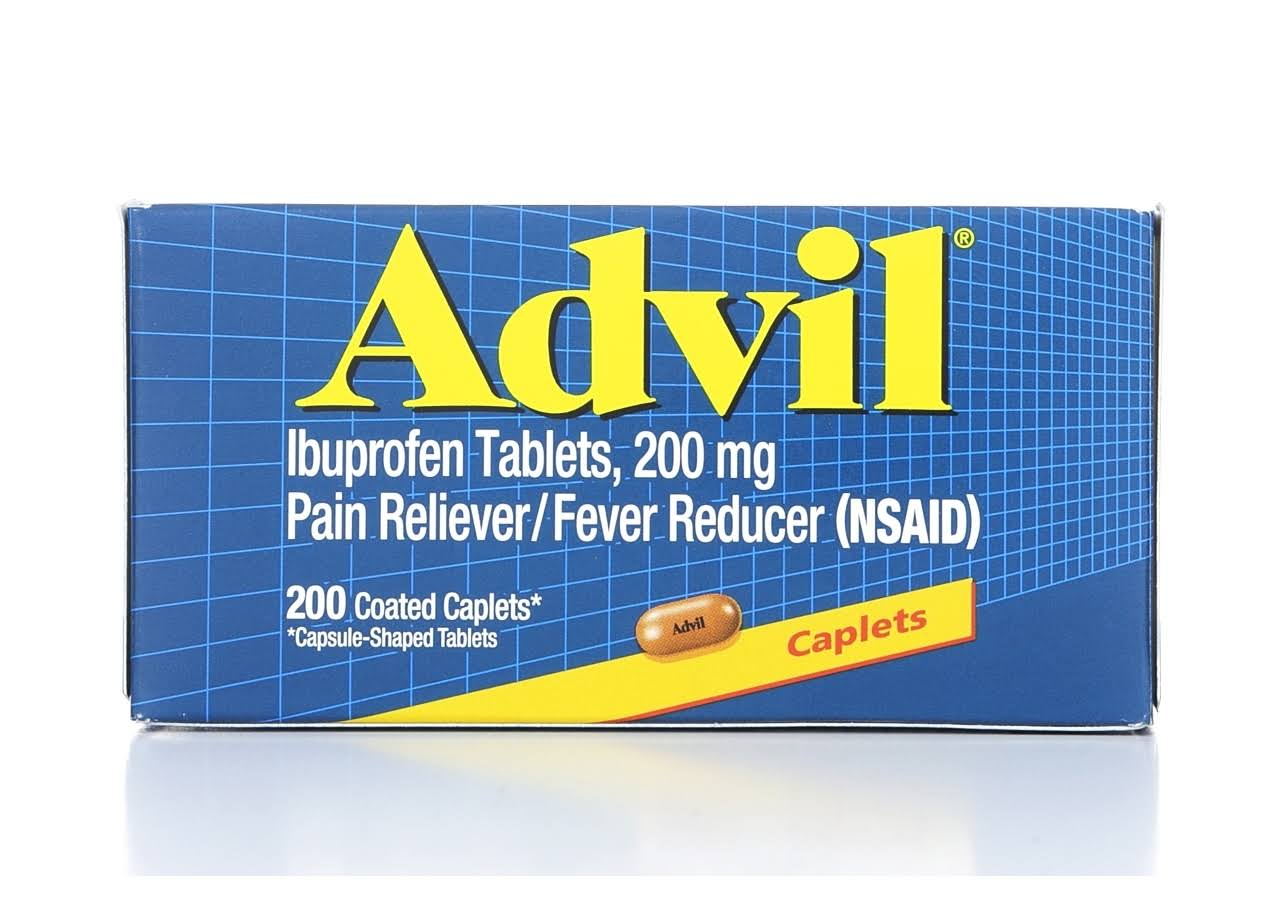Advil Ibuprofen Tablets - 200mg, x200