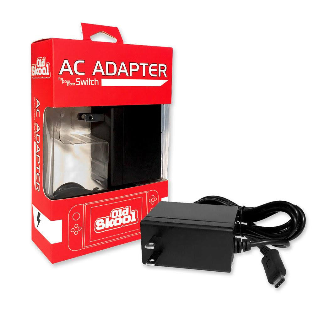 Old Skool Ac Adapter For Nintendo Switch High Speed Charger