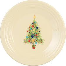 Christmas Tree Amazon Prime by Amazon Com Fiesta 9 Inch Luncheon Plate Christmas Tree