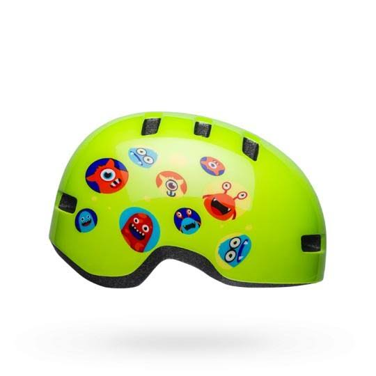 Bell Lil Ripper Helmet Toddler Monsters Gloss Green