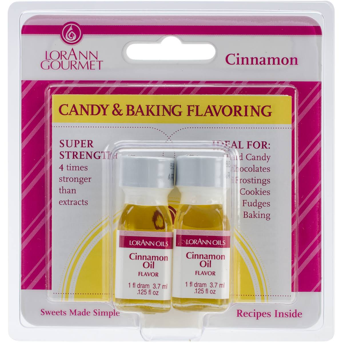 Candy & Baking Flavoring Oil - Cinnamon, .125oz
