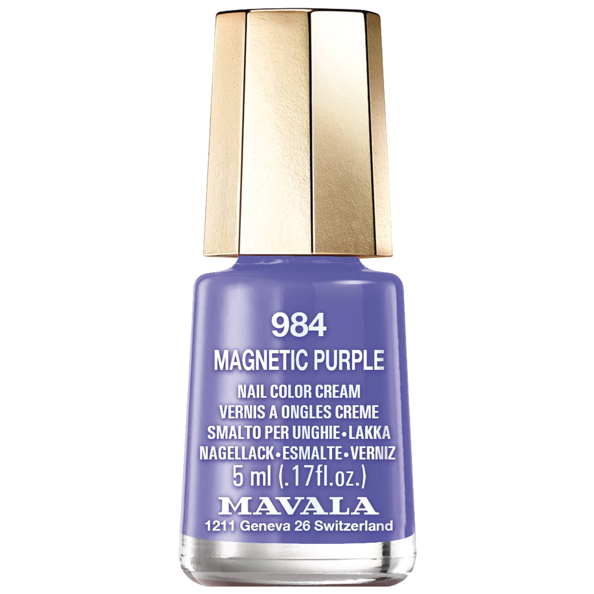 Mavala Dash & Splash 2019 Nail Polish Collection - Magnetic Purple