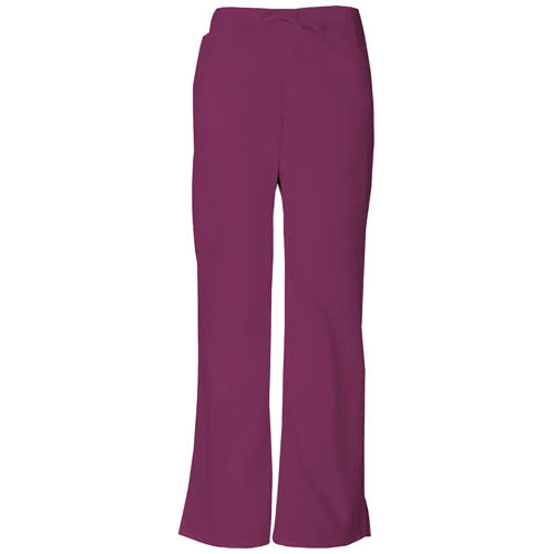 Dickies Womens EDS Signature Midrise Drawstring Cargo Pant - Wine, XX-Small
