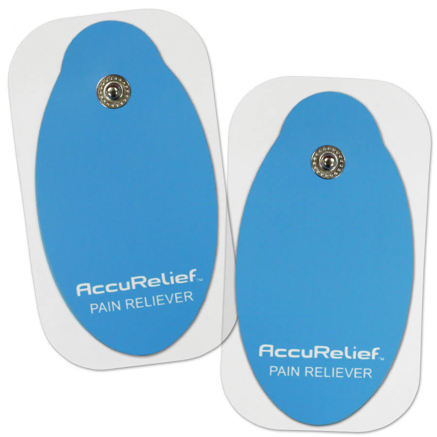AccuRelief Mini Tens Supply Kit - 4 Pair of Replacement Pads