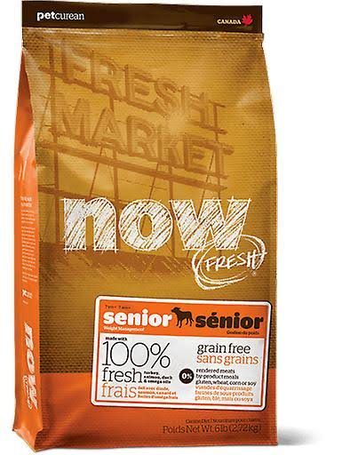 Now Fresh Grain Free Senior Recipe Dry Dog Food 25 lb