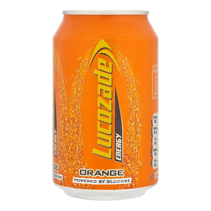 Lucozade Energy Drink - Orange, 330ml