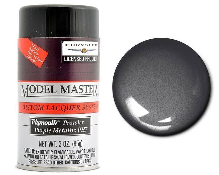 Testors Model Master Spray Purple Metallic 3 oz 28123
