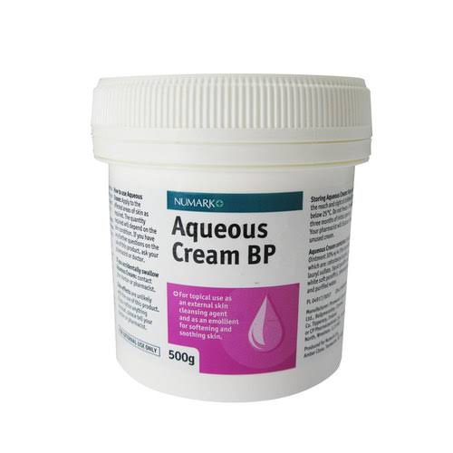 Numark Aqueous Cream BP Emollient Moisturiser - 500g