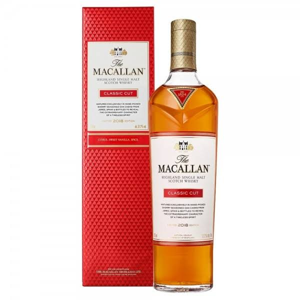 Macallan 2018 Classic Cut Single Malt Scotch Whisky - 750ml