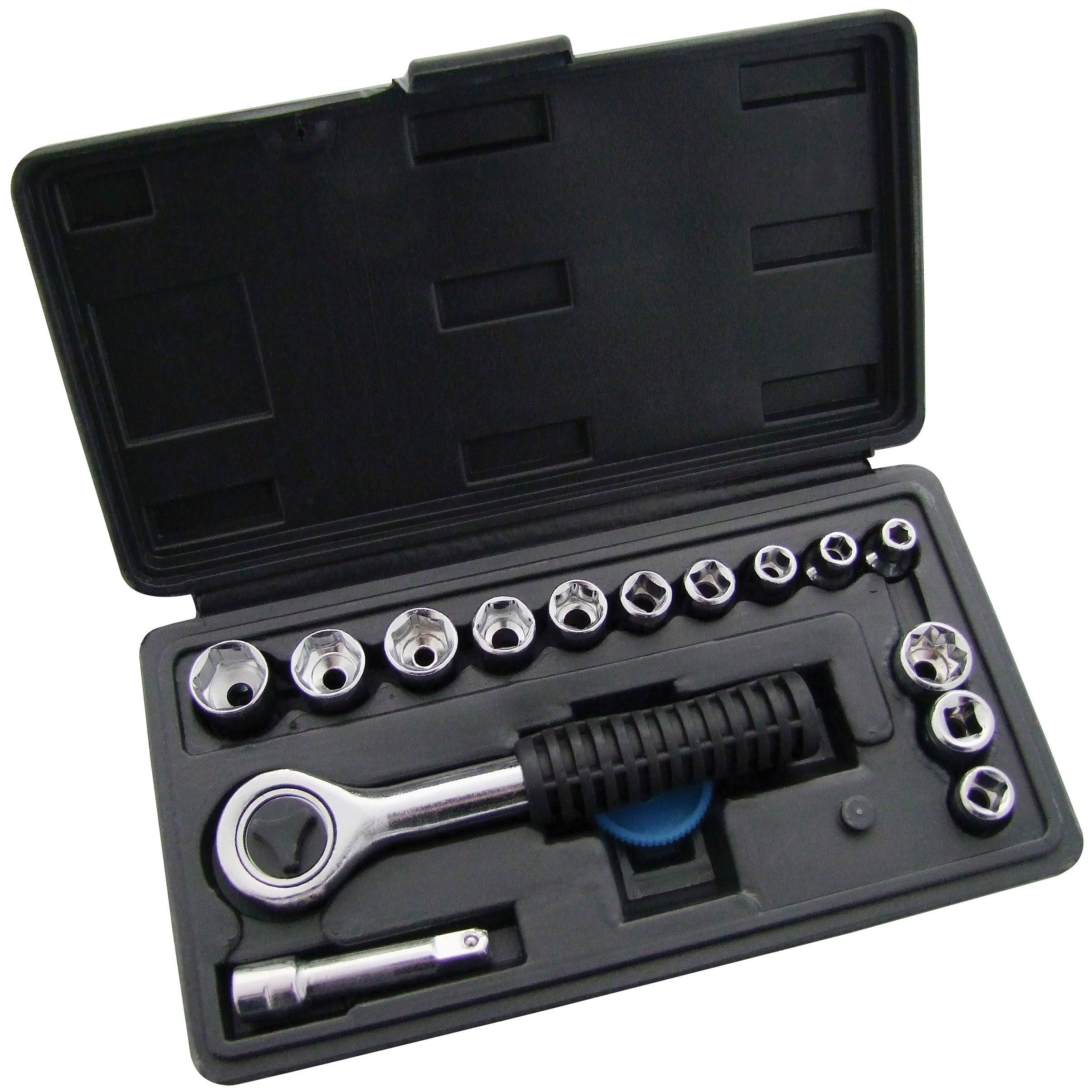 "Amtech 16pc 1/4"" Drive Socket Set"