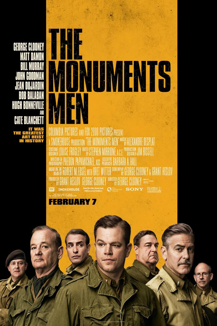 Película Monuments Men