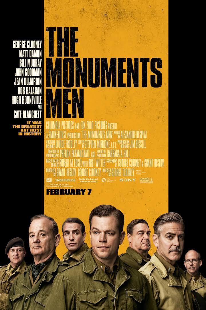 The Monuments Men (2014) ျမန္မာစာတန္းထိုး