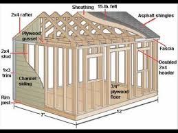 121 best wood shed plans images on pinterest sheds garden sheds