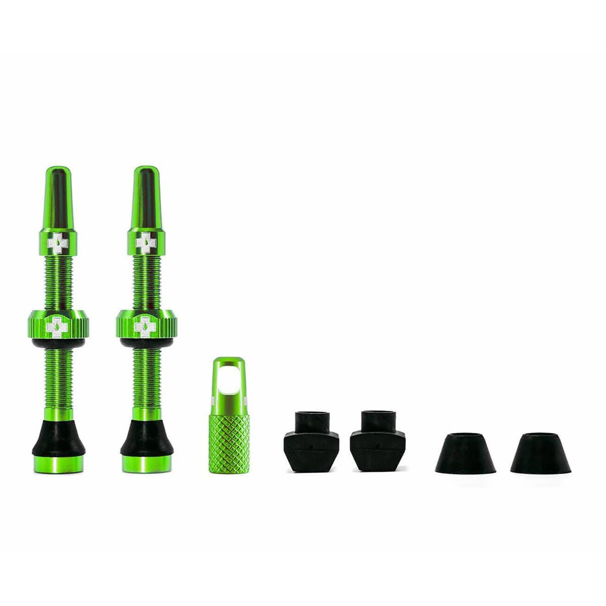 Muc Off Tubeless Valve Kit 44mm Green