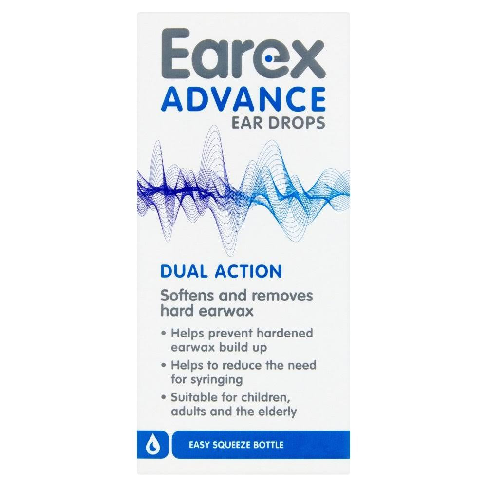 Earex Advance Ear Drops, 12 ml