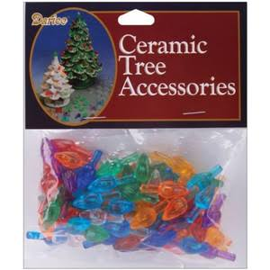 Darice Ceramic Christmas Tree Accessories