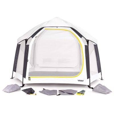 Veer Basecamp Portable Outdoor Playard, White