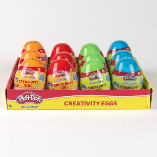 DDI 2338855 Play Doh Art & Activity Creativity Eggs in Display Assorted Color - Case of 36