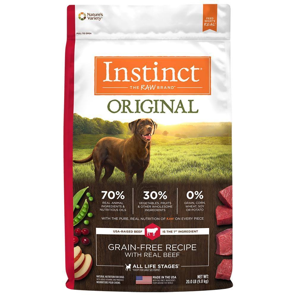 Nature's Variety Instinct Grain-Free Dry Dog Food - Original
