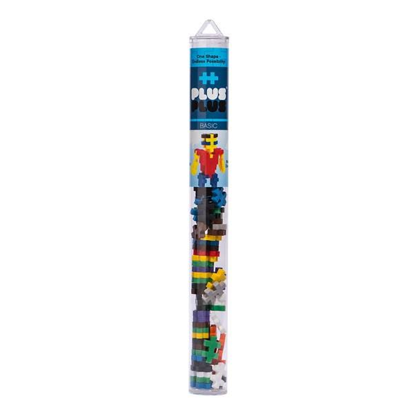 Plus-plus Tube Basic Mix - 70 Pieces
