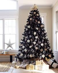 Artificial Christmas Tree 6ft by Tuxedo Black Artificial Christmas Tree Treetopia