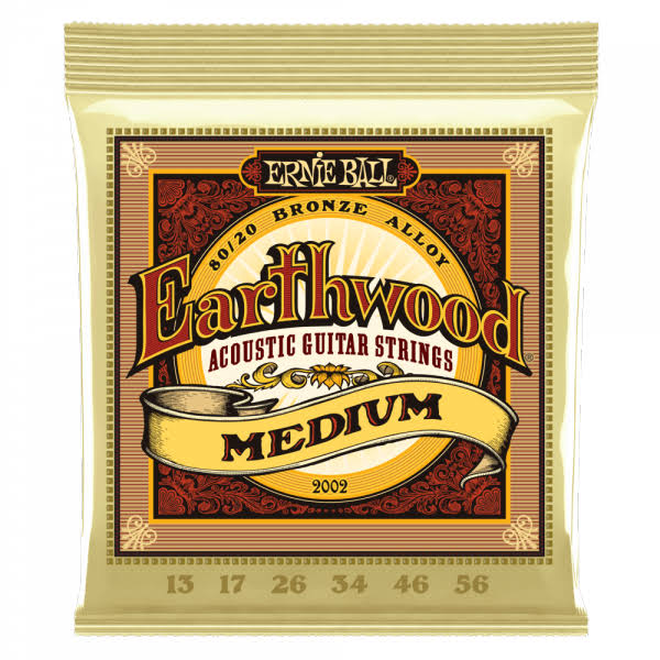Ernie Ball Earthwood Acoustic Guitar Strings - Medium