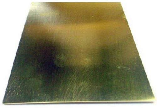 "K and S Brass Sheet - 4 x 10"" x 0.016"""