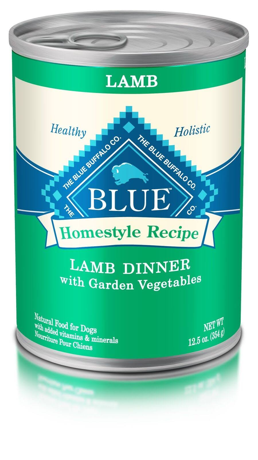 Blue Buffalo Canned Dog Food - Lamb and Vegetables, 12.5oz