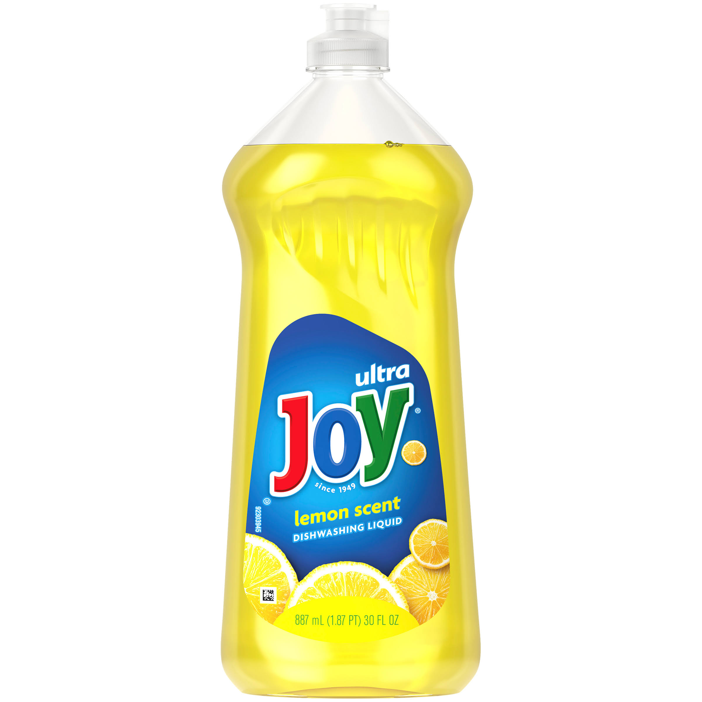 Joy Ultra Dishwashing Liquid - Lemon Scent, 30oz