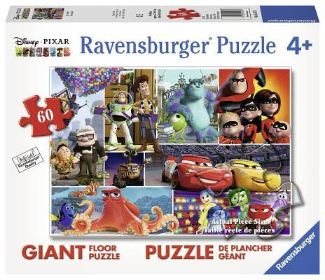 Ravensburger Pixar Friends 60 Piece Floor Puzzle
