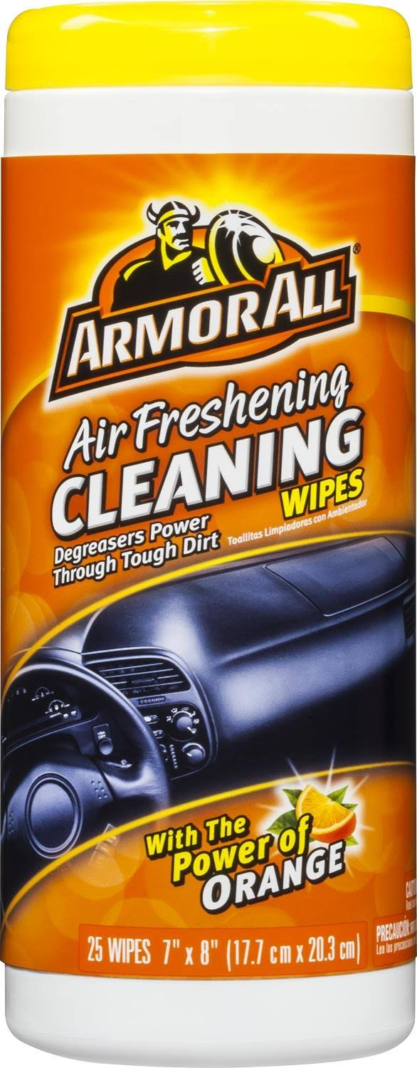 Armor All Air Freshening Cleaning Wipes - Orange Scent