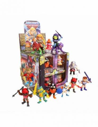 Masters of the Universe He Man Wave 2 Vinyl Chase Mini Figure - 12pcs