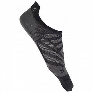 on Low Running Sock Women's, Black/Shadow, L
