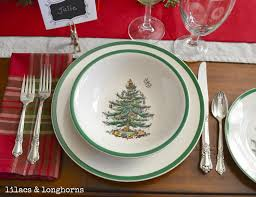 Spode Christmas Tree by Christmas Tablescape U0026 Dining Room Decor Lilacs And