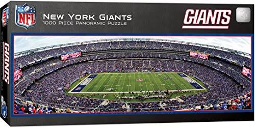 Masterpieces NFL New York Giants Stadium Panoramic Jigsaw Puzzle - 1000 Pieces