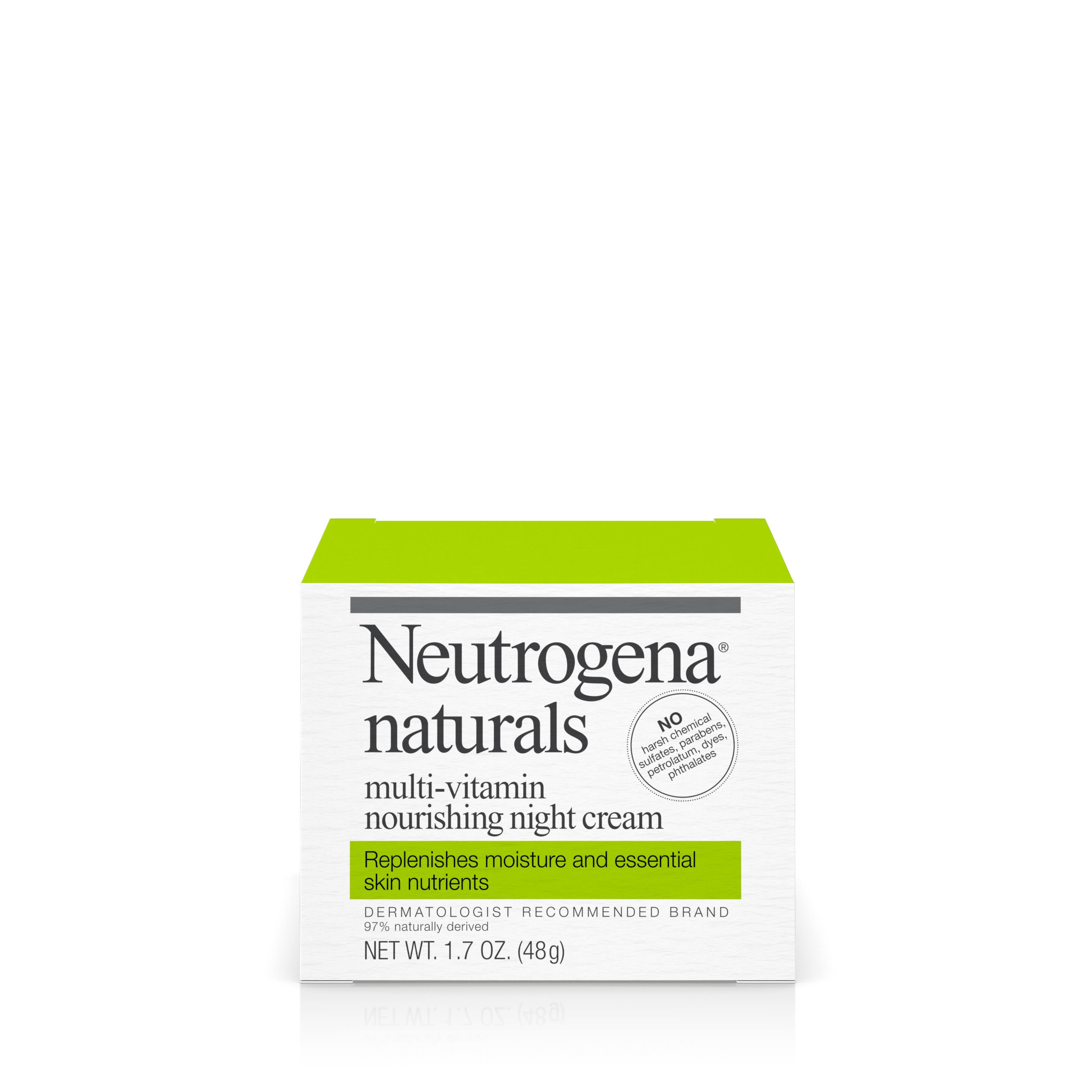 Neutrogena Naturals Multi-Vitamin Nourishing Night Cream - 1.7oz