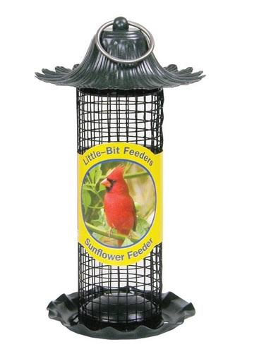 Stokes Select Little Bit Sunflower Bird Feeder - Red, 0.5lb