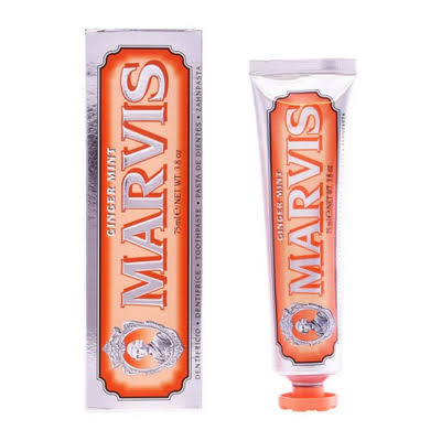 Marvis Ginger Mint Toothpaste - 75 ml