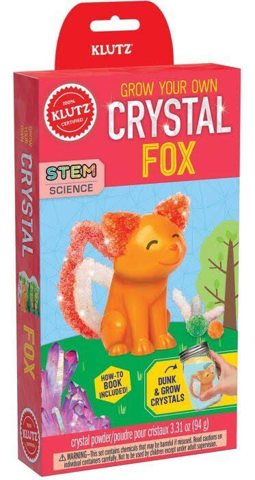 Klutz Grow Your Own Crystal Animal Kit - Fox