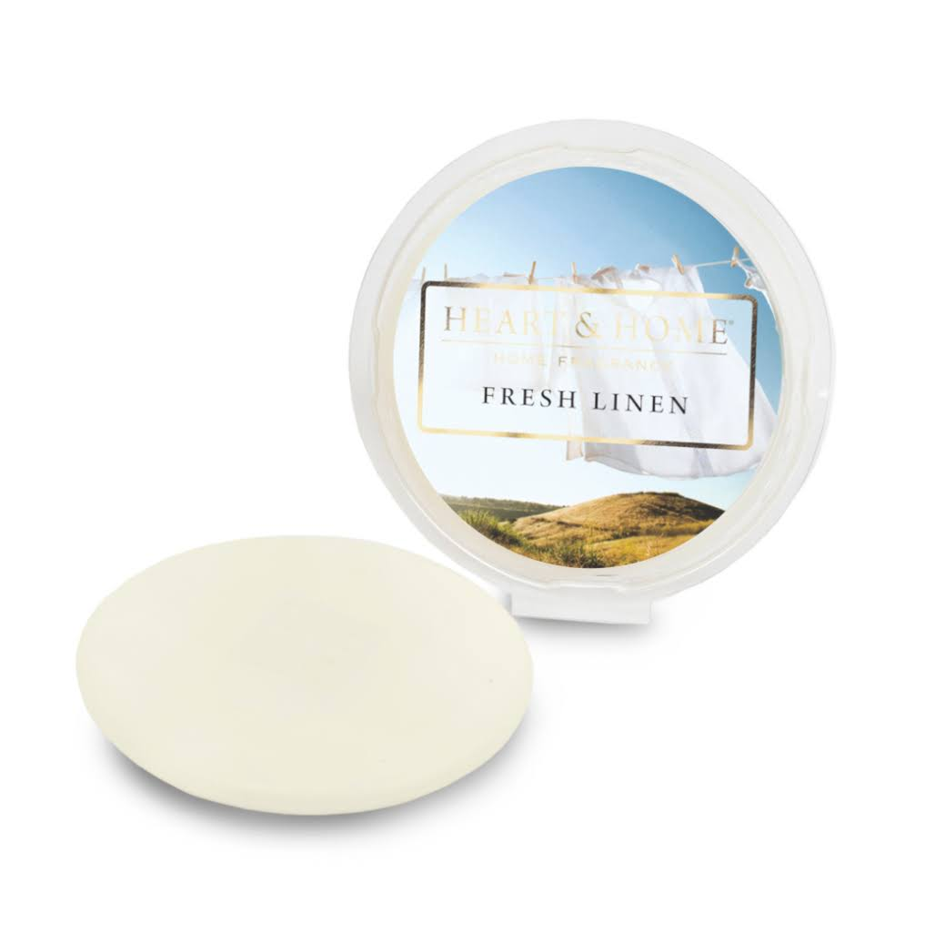 Heart & Home Wax Melt - Fresh Linen