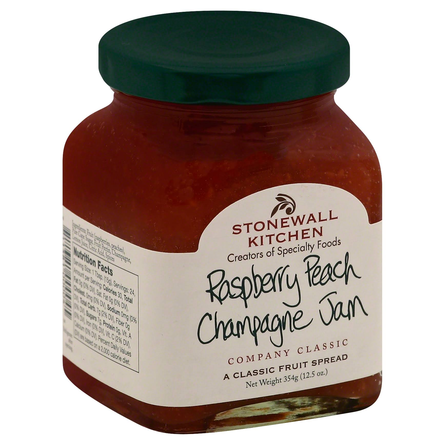 Stonewall Kitchen Jam - Raspberry Peach Champagne, 354g
