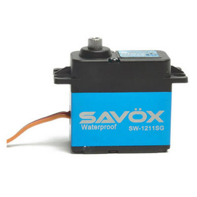 Savox Waterproof Coreless Steel Gear Digital Servo - Aluminum Case