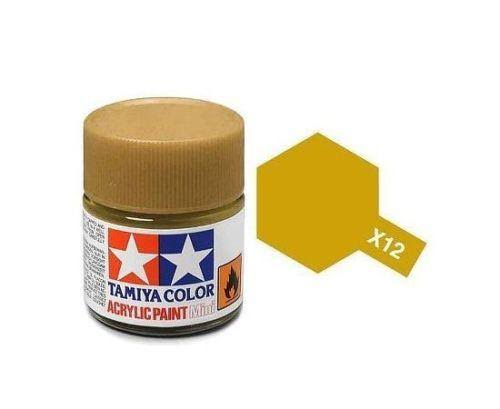 Tamiya Acrylic Mini X-12 Gold Leaf