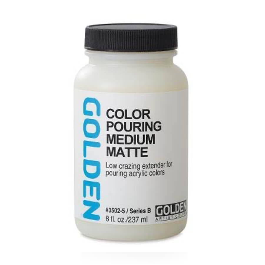 Golden Color Pouring Medium - Matte, 16 oz