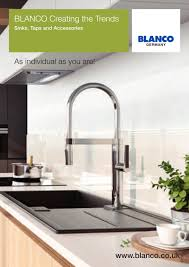 Blanco Sink Strainer Plug Uk blanco creating the trends blanco gmbh co kg pdf catalogues