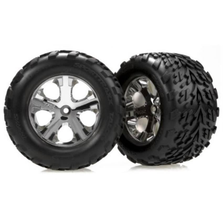 Traxxas RC Model Tyres and Wheels - Assembled, Glued, 2.8""