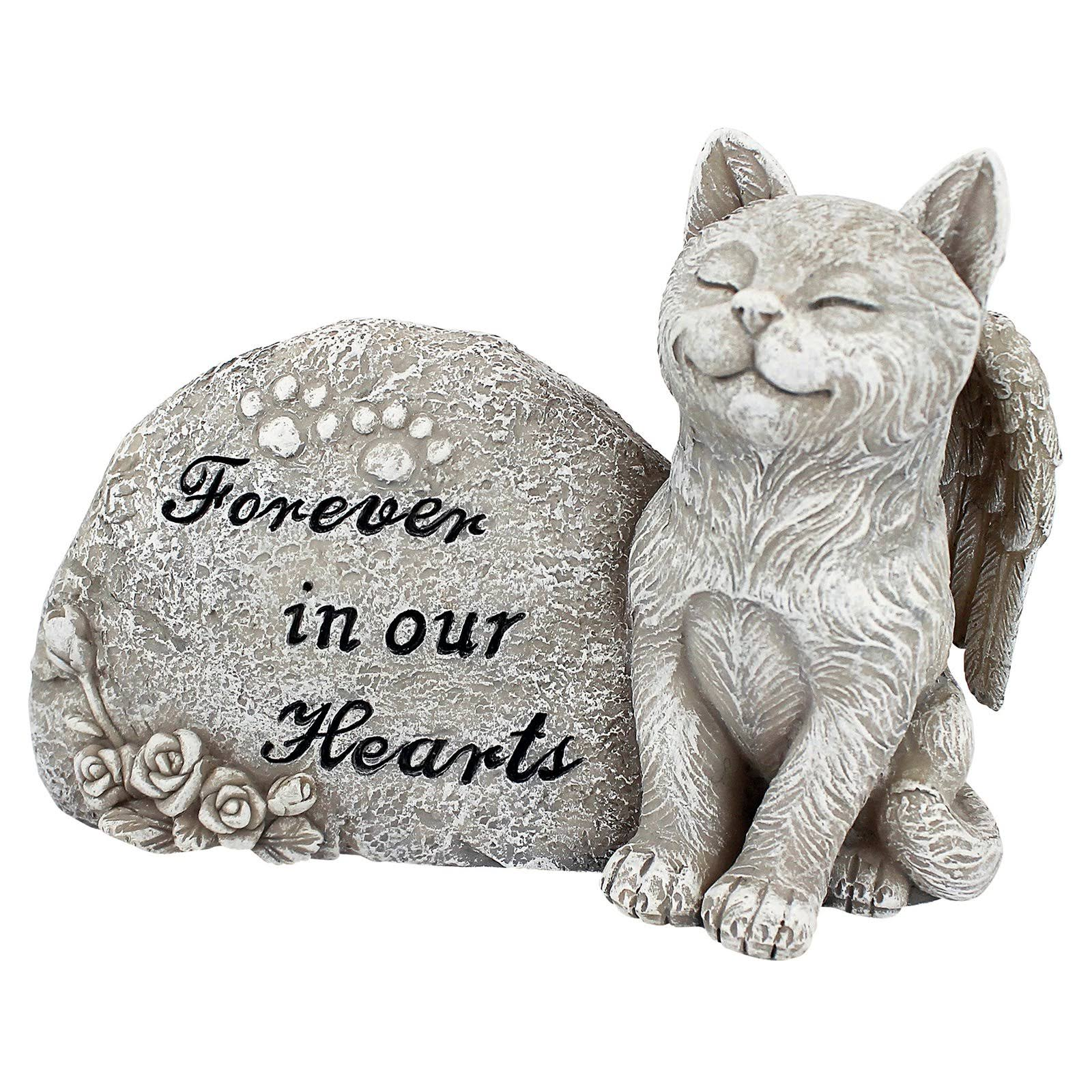 Design Toscano QL593932 Forever in Our Hearts Memorial Cat Statue