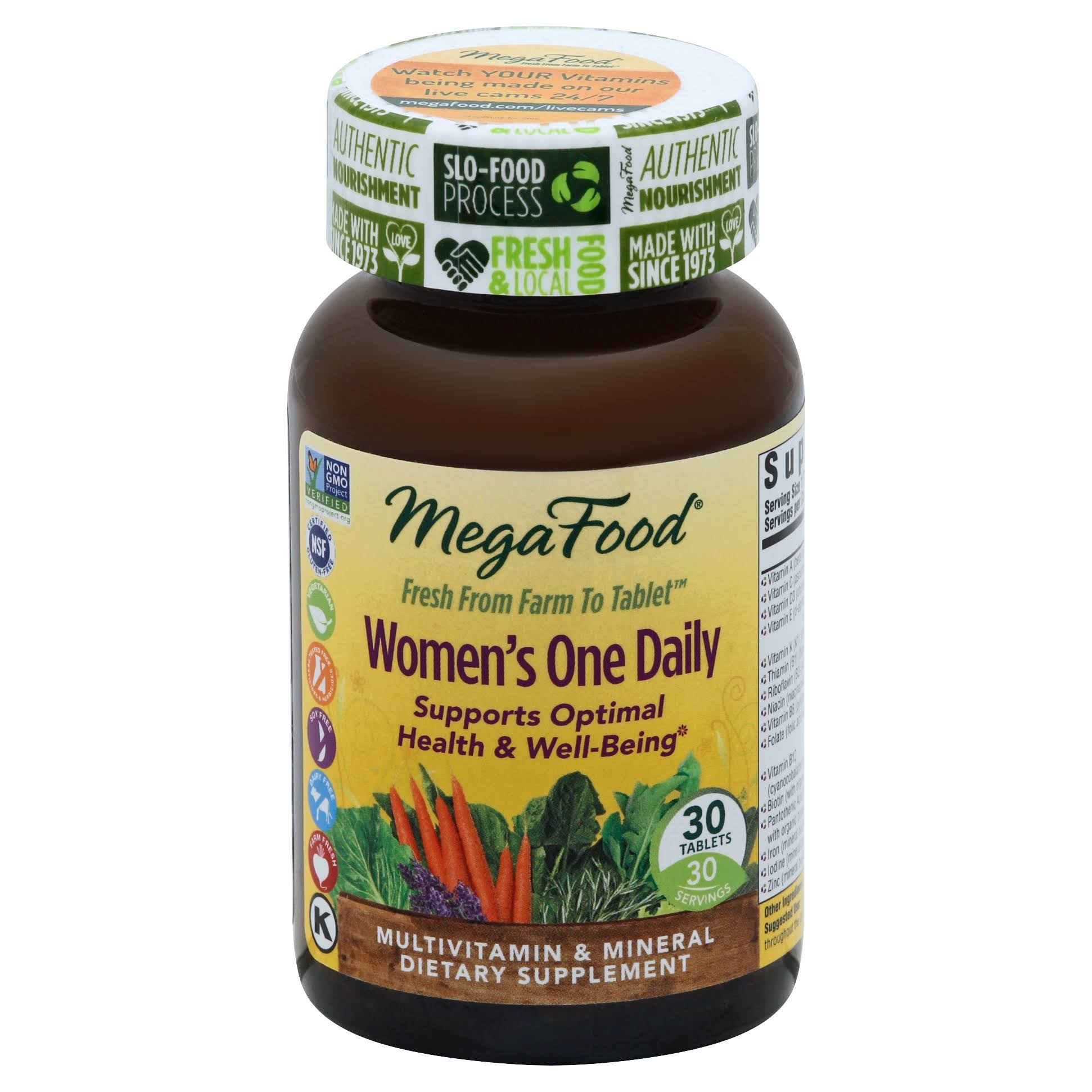 MegaFood Women's One Daily - 30 Tablets
